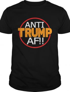 Anti donald trump af shirt