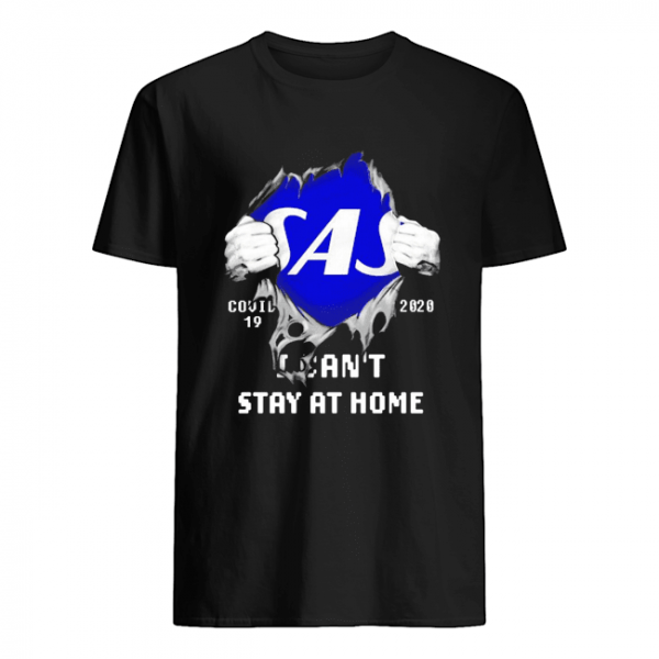 Blood Inside Me Scandinavian Airlines COVID-19 2020 I Can't Stay At Home  Classic Men's T-shirt