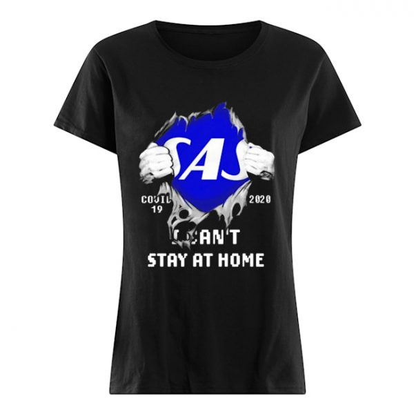 Blood Inside Me Scandinavian Airlines COVID-19 2020 I Can't Stay At Home  Classic Women's T-shirt