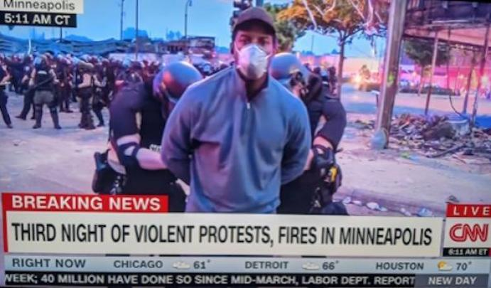 CNN Reporter Omar Jimenez Arrested Hours After Interviewing Chicago's Top Cop