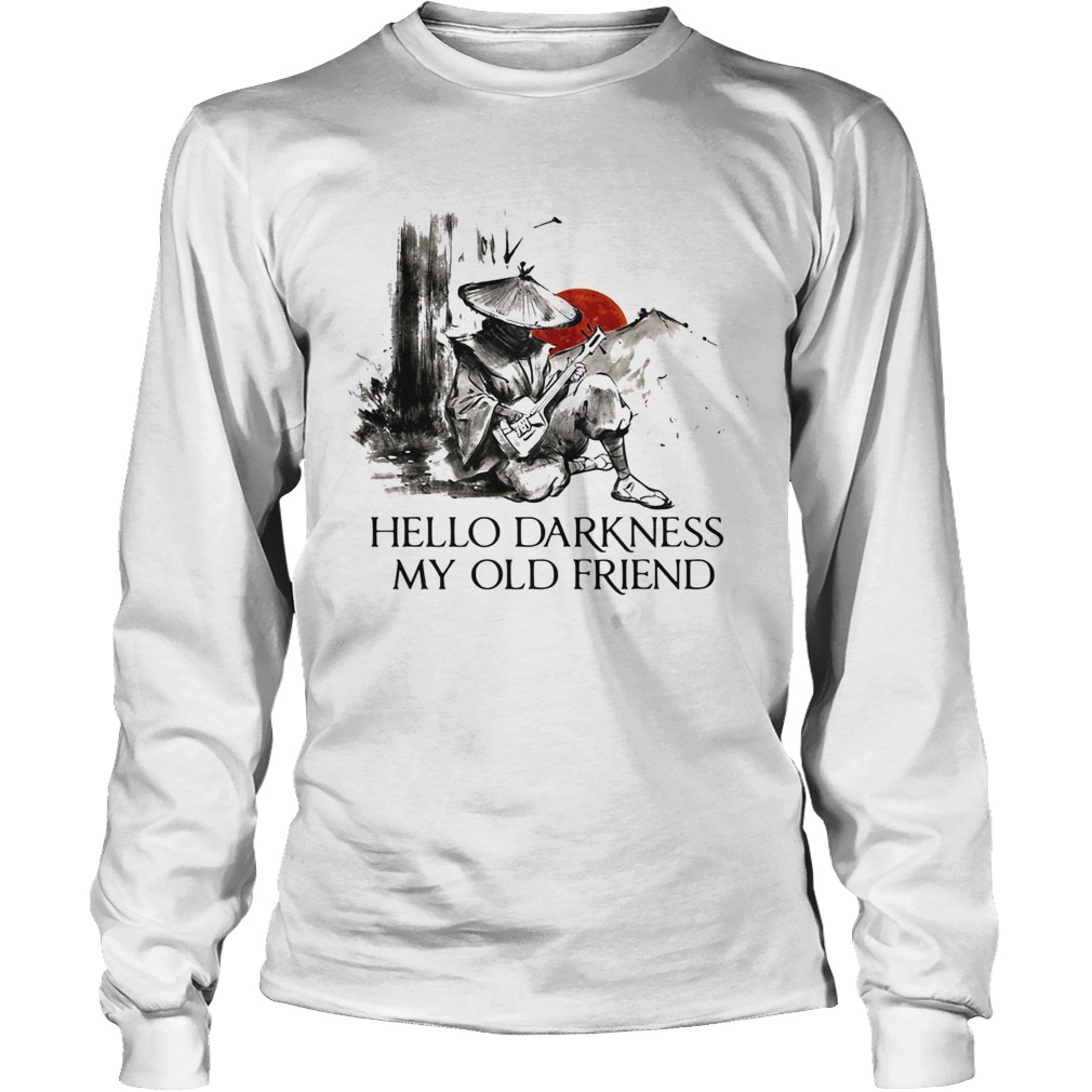 Hello darkness my old friend Long Sleeve
