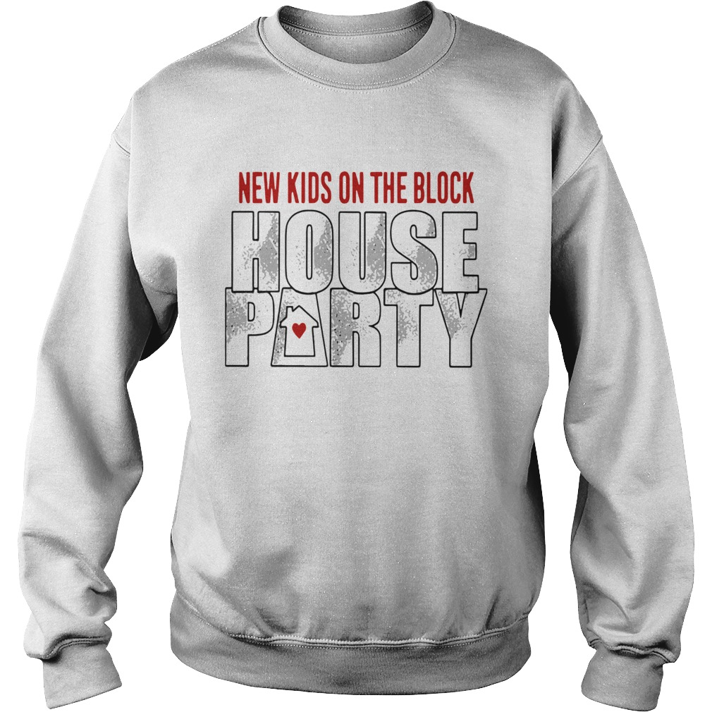 New Kids On The Block House Party Sweatshirt