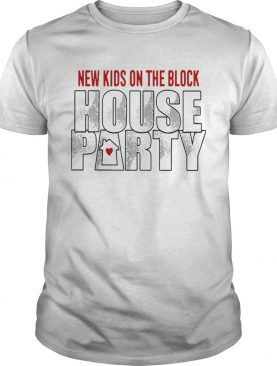 New Kids On The Block House Party shirt