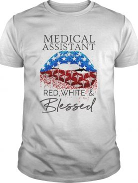 Each Medical Assistant Red White And Blessed Vintage shirt