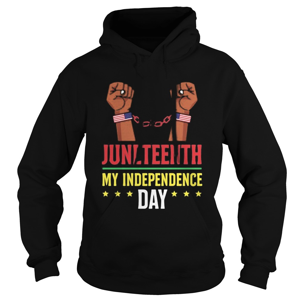 Juneteenth june 19th independence day stars Hoodie