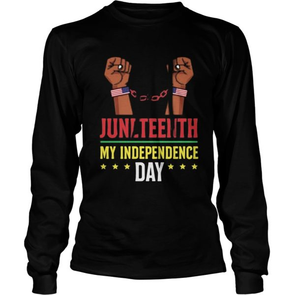 Juneteenth june 19th independence day stars  Long Sleeve