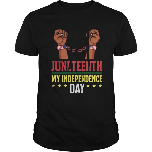 Juneteenth june 19th independence day stars  Unisex