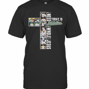 All I Need Today Is A Little Bit Of Athletics And A Whole Lot Of Jesus  T-Shirt Classic Men's T-shirt