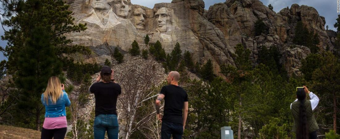 Of course Donald Trump wants fireworks over Mount Rushmore