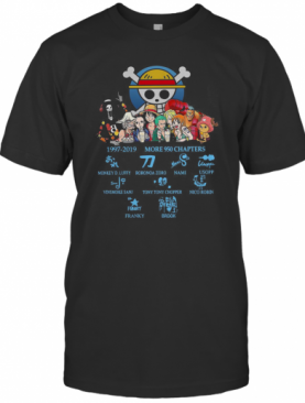 One Piece 1997 2019 Moren 950 Chapters Signature T-Shirt
