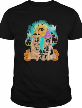 German Shepherd Halloween shirt