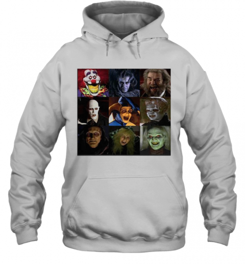 Halloween Horror Characters Face T-Shirt Unisex Hoodie