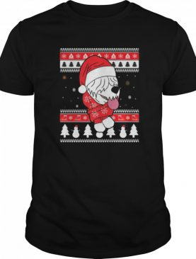 Old English Sheepdog Funny Dog Ugly Christmas shirt