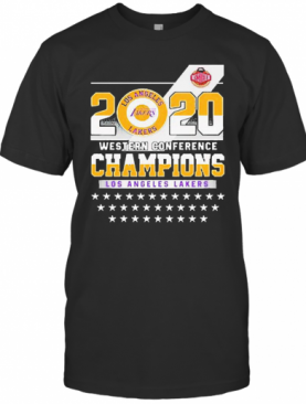 Los Angeles Lakers Western Conference Champions 2020 T-Shirt