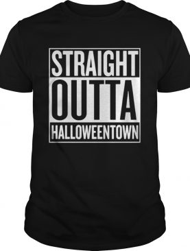 Straight Outta Halloweentown shirt