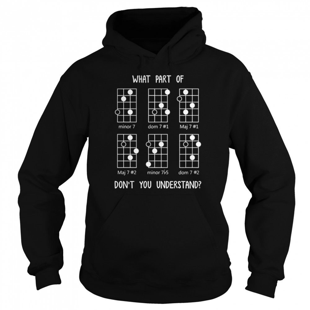 What Part Of Don't You Understand Unisex Hoodie
