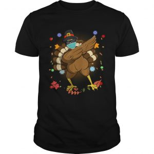 Dabbing Turkey Happy Thanksgiving Day Gifts Family Funny Top  Unisex