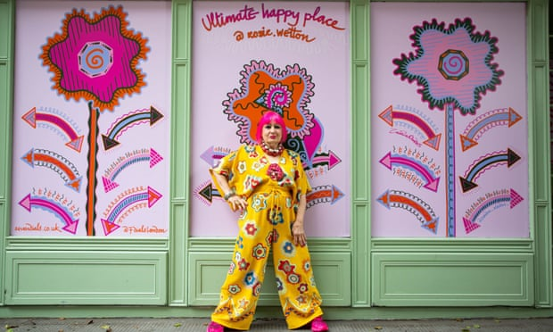 Zandra Rhodes reveals lockdown cancer diagnosis