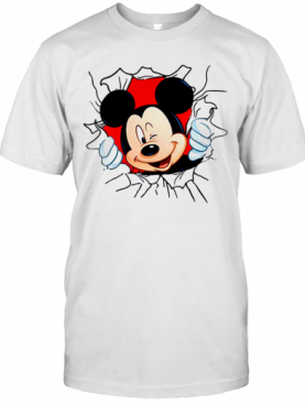 Blood In Side Me Mickey Mouse T-Shirt