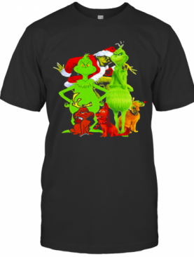 Grinch And Dog Merry Christmas T-Shirt