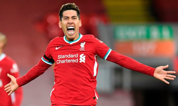 Roberto Firmino's late header punishes wasteful Spurs and sends Liverpool top