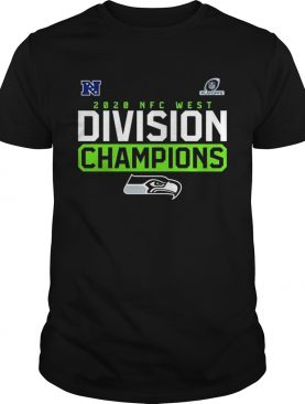 Seattle Seahawks Fanatics Branded 2020 NFC West Division Champions Flying High shirt