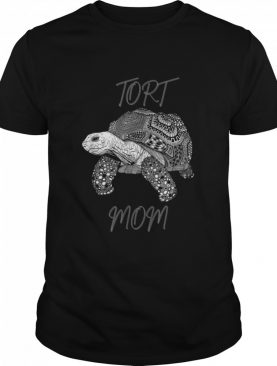 Tort Mom Sulcata African Spurred Tortoise Turtle Shell shirt