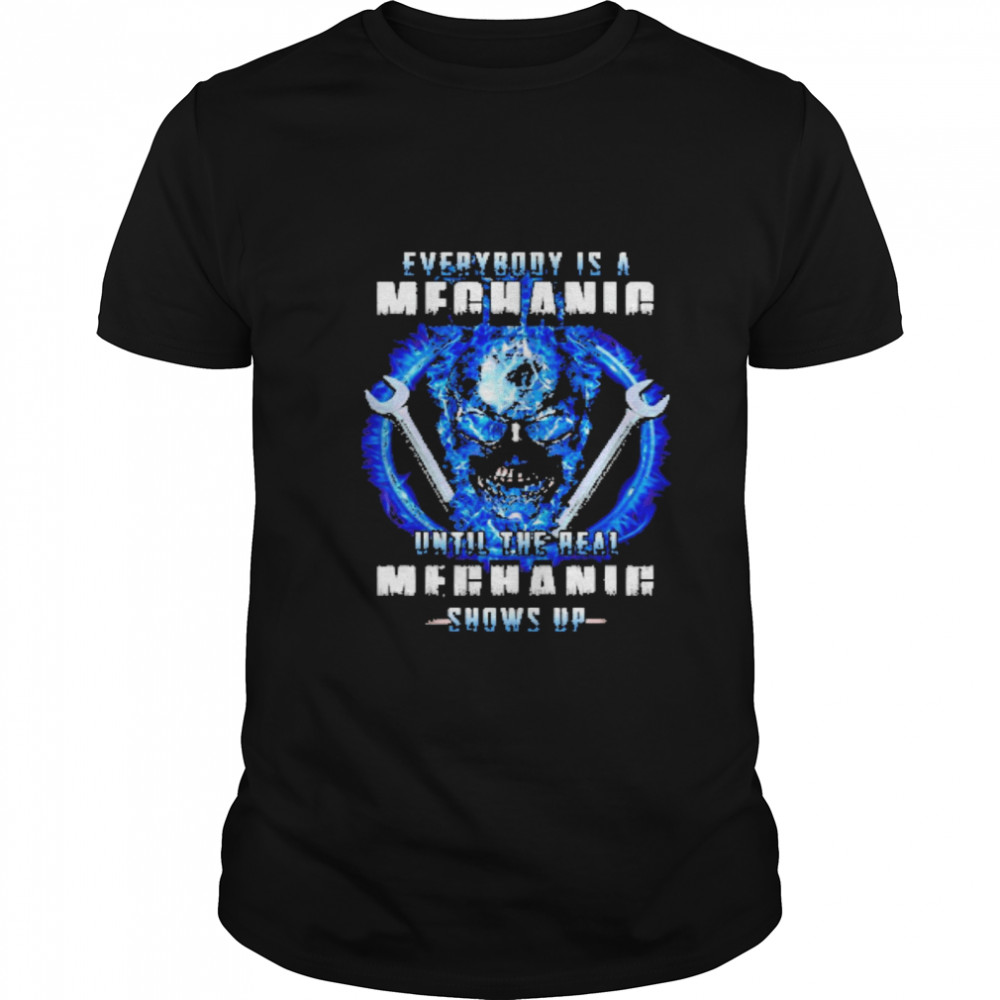 Wrench everybody is a meganie until the real meghaig show up Classic Men's T-shirt