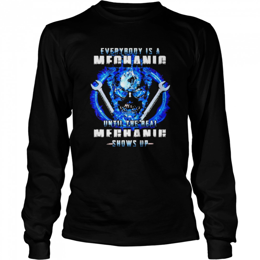 Wrench everybody is a meganie until the real meghaig show up Long Sleeved T-shirt