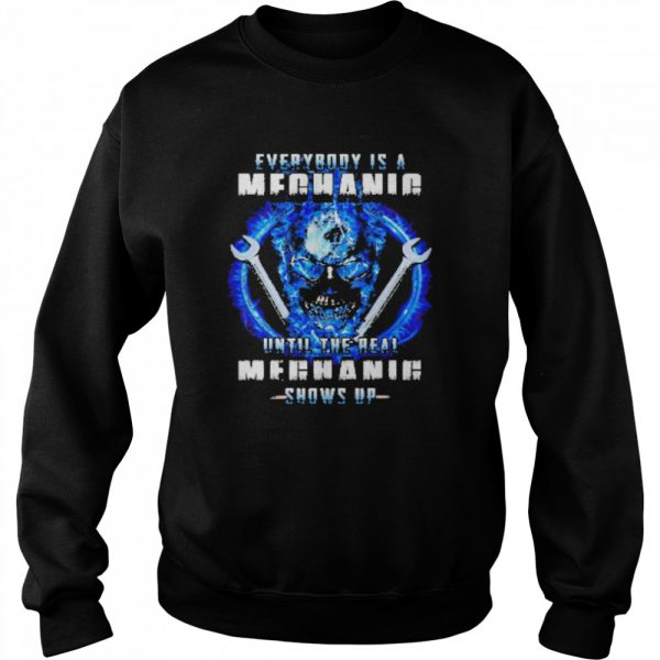 Wrench everybody is a meganie until the real meghaig show up  Unisex Sweatshirt