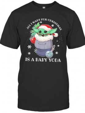 Yoda All I Want For Christmas 2020 T-Shirt