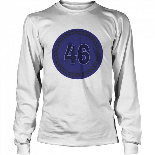 46 Baseball  Long Sleeved T-shirt