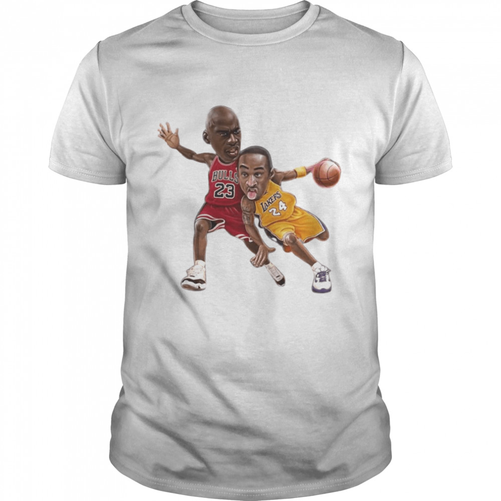 Lebra James and Kobe Bryant Classic Men's T-shirt