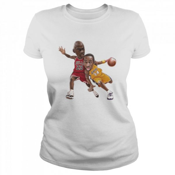 Lebra James and Kobe Bryant  Classic Women's T-shirt