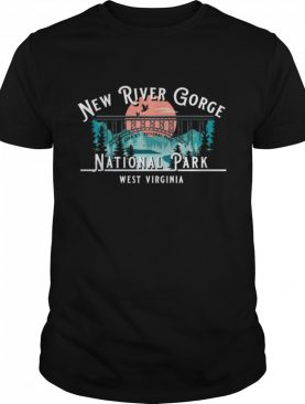New River Gorge National Park Camping Hiking Mountains shirt