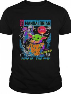 Star Wars The Mandalorian The Child Comic Book shirt