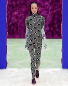 Simons said the psychedelic bodysuits could be for going out dancing, or for yoga at home.