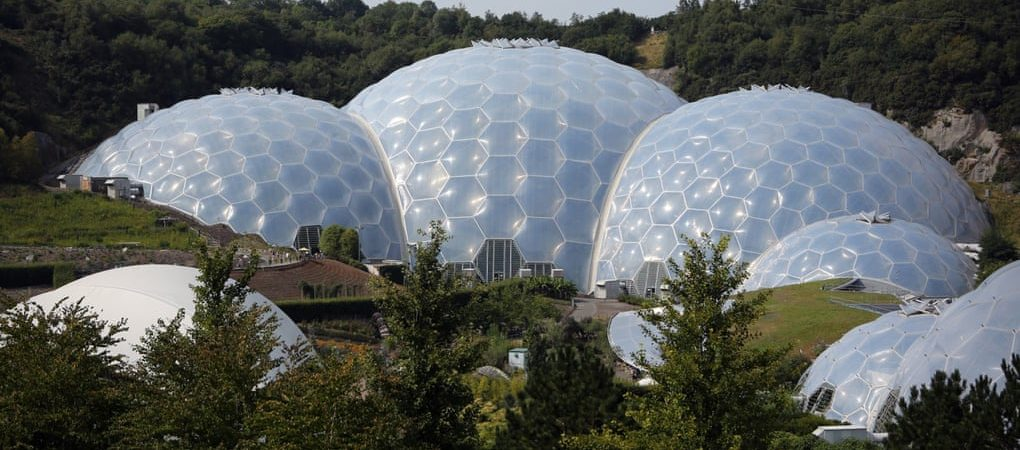 Inspired by a sink full of soap bubbles: how we made the Eden Project
