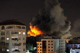 Hamas sends rockets deeper into Israel after Gaza airstrikes as conflict spirals